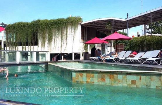 SEMINYAK – MODERN BEACHFRONT APARTMENT FOR LEASEHOLD SALE (LHV090)