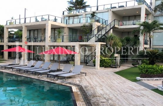 SEMINYAK – BEACHFRONT 89 YEARS LEASEHOLD APARTMENT FOR SALE IN SEMINYAK (LHV095)