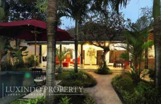 LEGIAN – 2 BEDROOM MODERN BALINESE VILLA FOR LEASE CLOSE TO SUNSET ROAD