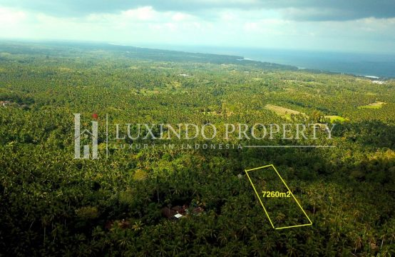 BALIAN – PANORAMIC OCEAN VIEW LAND FOR SALE (FHL017)
