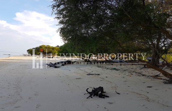 GILI TRAWANGAN – ABSOLUTE SUNSET VIEW BEACHFRONT LAND (FHL012)