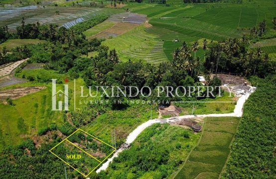 TUMBAK BAYUH – BALI FREEHOLD LAND FOR SALE IN CANGGU WITH RICE FIELD VIEW (FHL014)