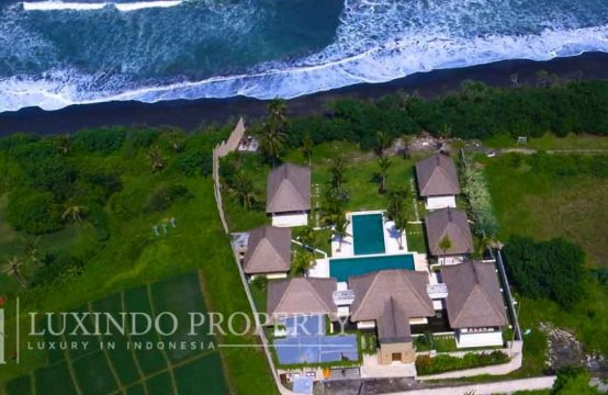 TABANAN – AMAZING BEACHFRONT VILLA RESORT FOR SALE IN SECLUDED AREA OF TABANAN