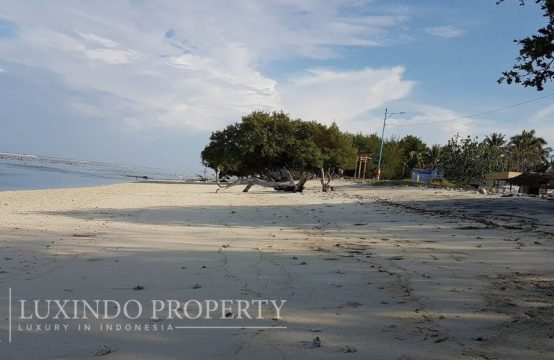 GILI TRAWANGAN – ABSOLUTE BEACHFRONT FOR RESORT PROJECT (FHL042)