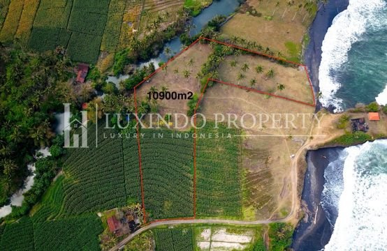 TABANAN – ABSOLUTE BEACHFRONT LAND IN BERABAN (FHL043)