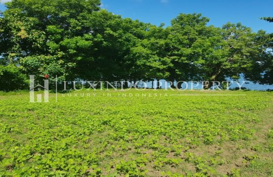 BATU PUTIH – BEACH FRONT LAND FOR SALE WITH BEAUTIFUL WHITE SAND BEACH IN LOMBOK (FHL060)