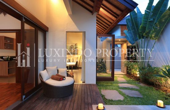 KEROBOKAN – 1 BEDROOM VILLA IN SECURE VILLA COMPLEX (RV121)