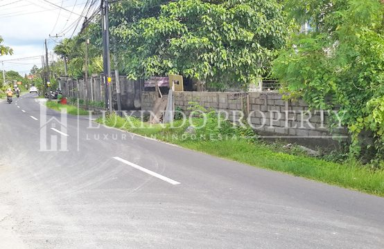UMALAS – PRIME LEASEHOLD LAND LOCATED AT THE MAIN ROAD OF UMALAS (LHL015)