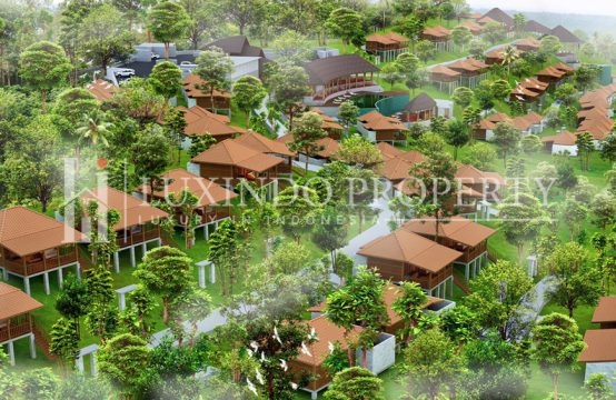 NUSA PENIDA – VILLA JOGLO WITH ONE BEDROOM IN VILLA COMPLEX (LHV121)