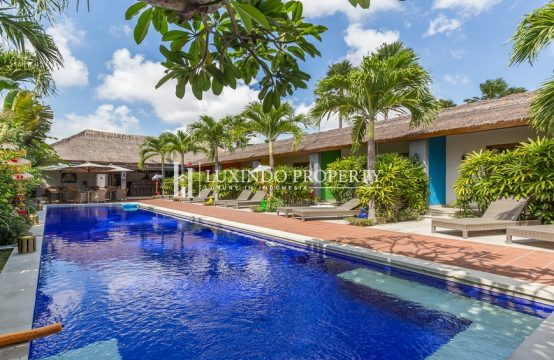 KEROBOKAN – RUNNING GUEST HOUSE AND VILLA FOR LEASEHOLD SALE (RST012)