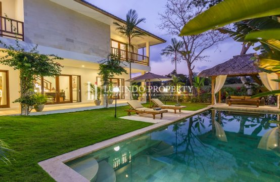 CANGGU – BEAUTIFUL 4 BEDROOM VILLA FOR YEARLY RENTAL IN BERAWA CANGGU (RV142)