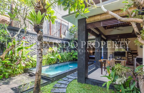 KEROBOKAN – 2 BEDROOM VILLA FOR YEARLY RENT IN TAMAN SARI (RV143)