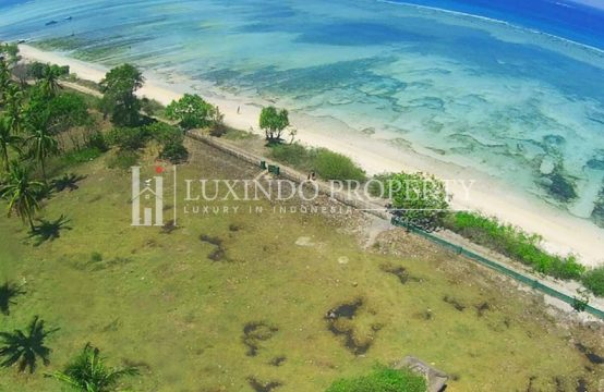GILI AIR – LARGE BEACHFRONT LAND FOR SALE (FHL110)