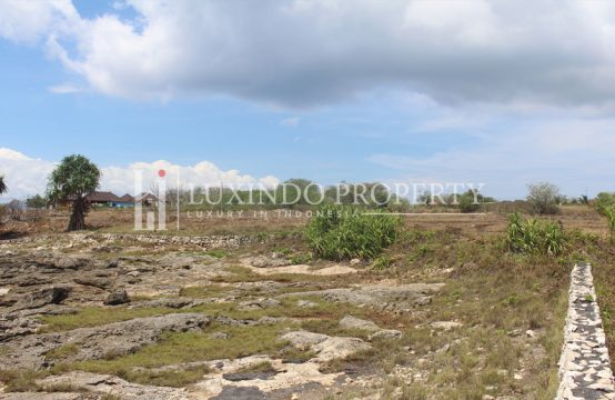 LEMBONGAN – 21,415m2 CLIFF FRONT LAND AVAILABLE FOR SALE (LHL043)