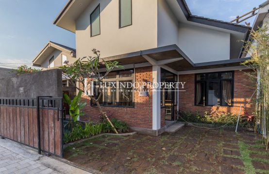 KEROBOKAN – BRAND NEW STUDIO 2 BEDROOM VILLA FOR LEASEHOLD SALE (LHV143)