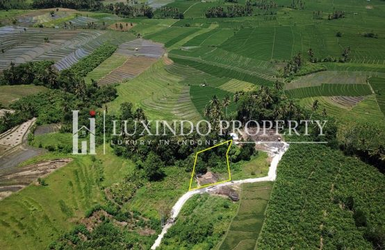TUMBAK BAYUH – GREENBELT RICE FIELD VIEW LAND FOR SALE IN CANGGU BALI (FHL150)
