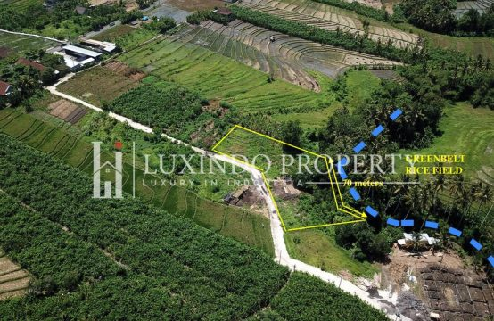 TUMBAK BAYUH – EXCEPTIONAL RIVER AND RICE FIELD VIEW LAND FOR SALE IN CANGGU BALI (FHL152)