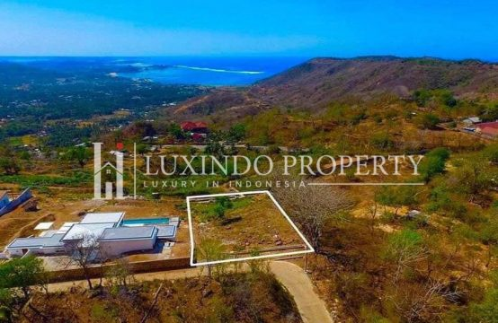 LOMBOK – FREEHOLD OCEAN VIEW LAND FOR SALE IN KUTA (FHL182)