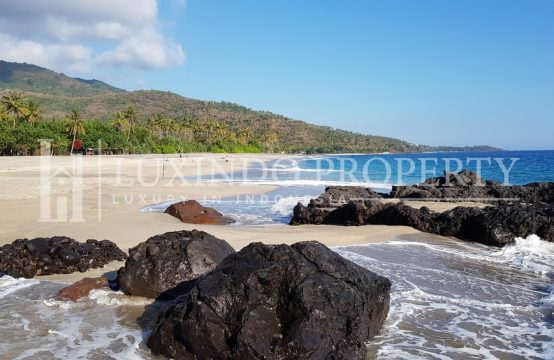 LOMBOK – BEACHFRONT LAND FOR SALE FREEHOLD (FHL159)