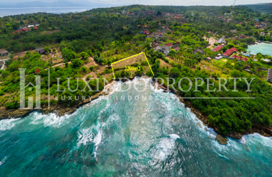 ABSOLUTE BEACHFRONT LAND FOR LEASEHOLD 22 ARE IN NUSA LEMBONGAN (LHL060)