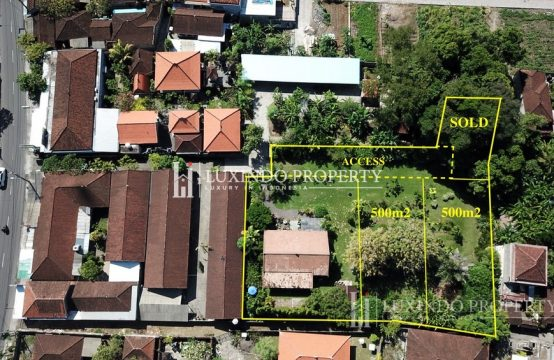 PRIME KEROBOKAN LEASEHOLD LAND 1000 SQM OR 500 SQM (LHL061)