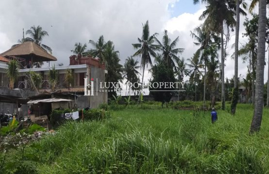 UBUD – PERFECT 1,002 M2 LAND FOR FREEHOLD SALE (FHL168)