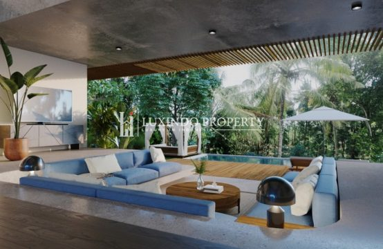 TUMBAK BAYUH – LUXURIOUS OFF PLAN 4 BEDROOM VILLA OVERLOOKING RIVER (LHV212)