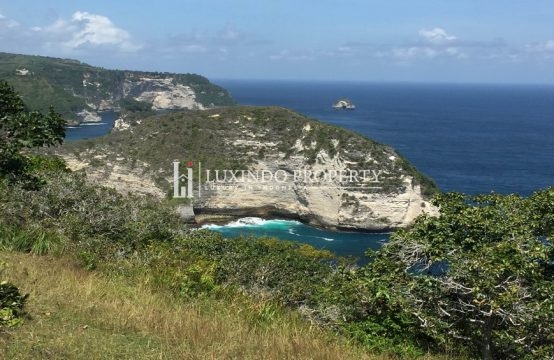 NUSA PENIDA – 250 ARE CLIFF FRONT LAND WITH OCEAN VIEW IN NUSA PENIDA (FHL185)
