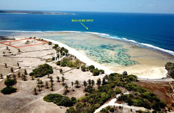 BOA – BEST SURF LOCATION BEACHFRONT LAND ROTE ISLAND (FHL199)