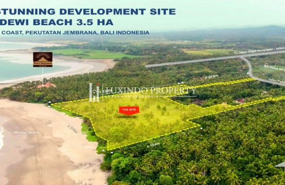 MEDEWI – A STUNNING BEACH FRONT LAND FOR INVESTMENT PROJECT (FHL215)