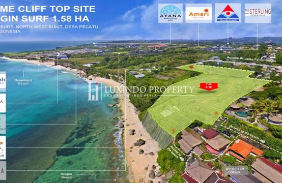 PECATU – PRIME CLIFF TOP LAND FOR INVESTMENT PROJECT (FHL216)