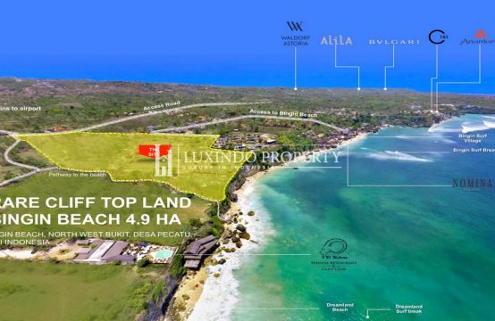 PECATU – AMAZING CLIFF TOP LAND FOR INVESTMENT PROJECT (FHL217)