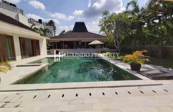 CANGGU – 3 BEDROOM JOGLO VILLA FOR YEARLY RENTAL (RV208)