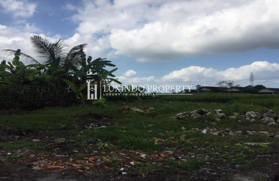 KABA – KABA- 2 ARE LAND FOR SALE FREEHOLD RICE FIELD VIEW IN TABANAN (FHL243)