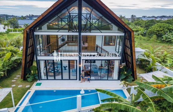 PERERENAN- 4 BEDROOM VILLA FOR SALE LEASEHOLD IN PERERENAN WITH GREEN BELT VIEW (LHV278)