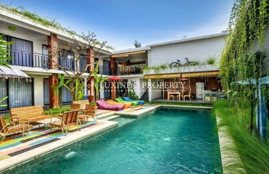 CANGGU – STUNNING GUEST HOUSE WITH RICE FIELDS VIEW FOR YEARLY RENTAL (RV237)