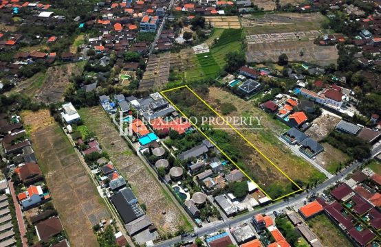 UMALAS – 370 M2 MAIN ROAD LAND FOR FREEHOLD SALE (FHL261X)