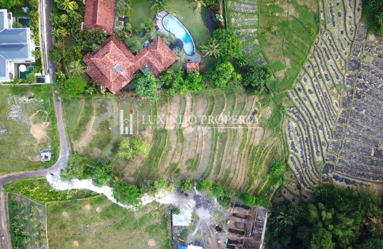PERERENAN – PRIME 3,662 m2 FREEHOLD LAND WITH RICE FIELD VIEW (FHL260)
